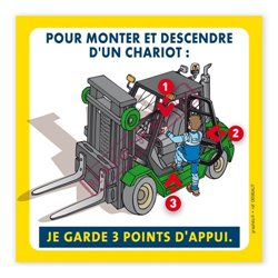 3 points d'appui chariot