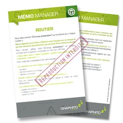 Mémo manager - Routier