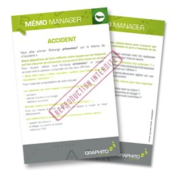 Mémo manager - Accident