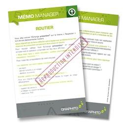 Mémo manager - Routier, respectez les règles