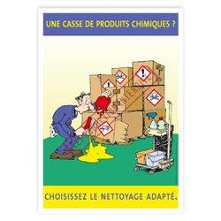 Nettoyage produits chimiques