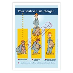 Comment soulever une charge