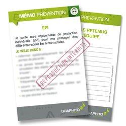 Mémo prévention - EPI
