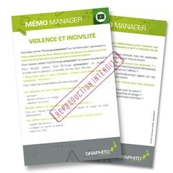 Mémo manager - Violence et incivilité