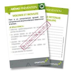 Mémo prévention - Violence et incivilité