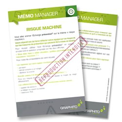 Mémo manager - Risque machine
