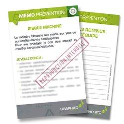 Mémo prévention - Risque machine
