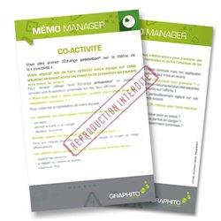 Mémo manager - Co-activité