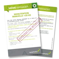 Mémo manager - Manutention
