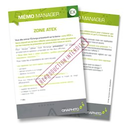 Mémo manager - Zone ATEX