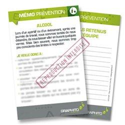 Mémo prévention - Alcool
