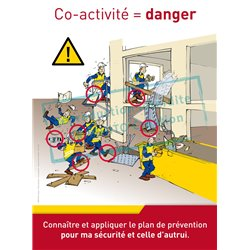 Co-activité, situation dangereuse