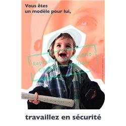 Travaillez en sécurité - enfant