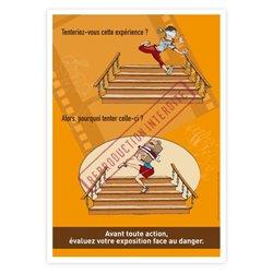 Expérience escalier