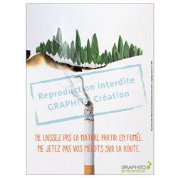 Environnement pollution mégot