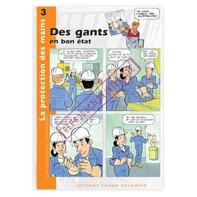 Protection des mains - Des gants en bon état!