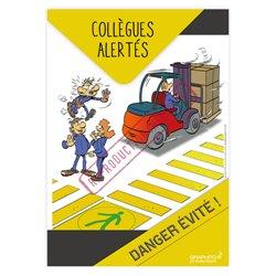 Collègues alertés, danger évité
