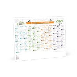 Calendrier sécurité grand format 2020