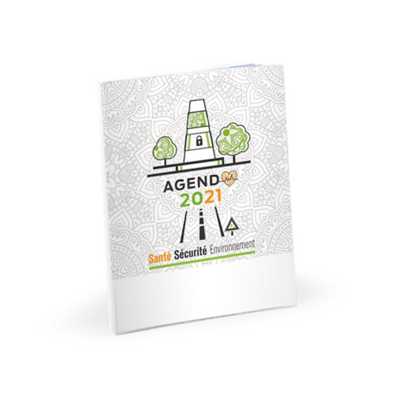 Agenda prévention sécurité de bureau semainier 2020