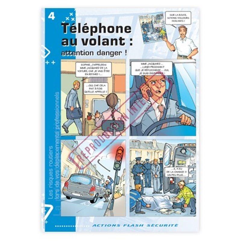 Les risques routiers lors de vos déplacements professionnels - Le téléphone au volant