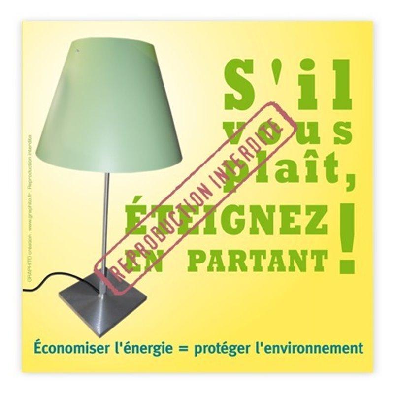 Economisez l'énergie