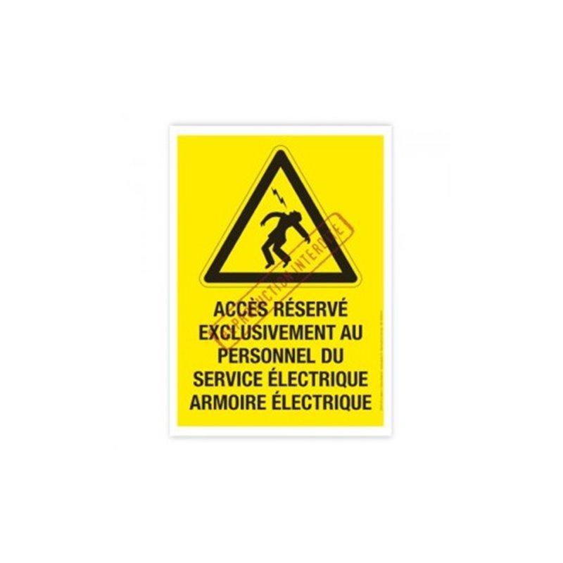 Pictogramme armoire électrique