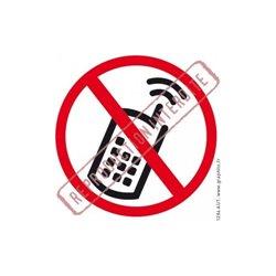 Interdiction de téléphoner