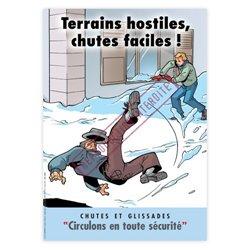 Terrains hostiles, chutes faciles !