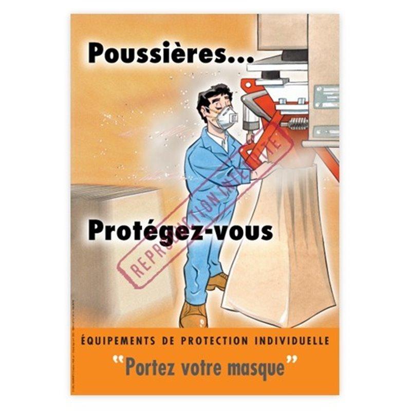 Poussières… protégez-vous