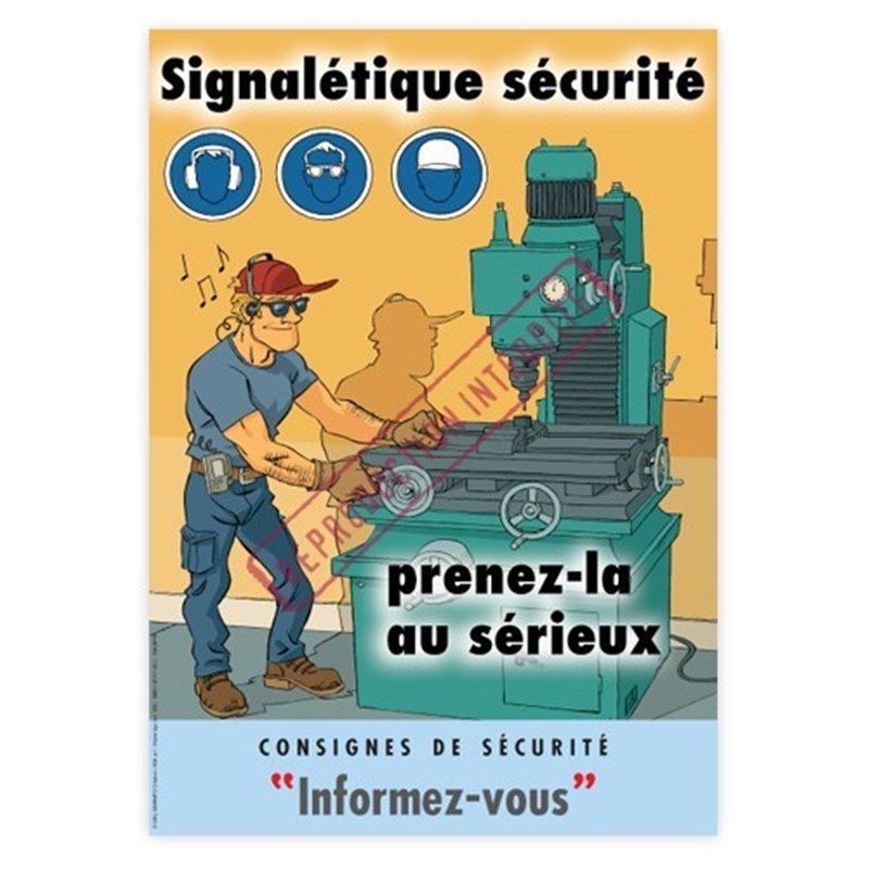 Signalétique sécurité… prenez-la au sérieux