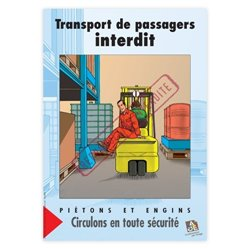 Transport de passagers interdit