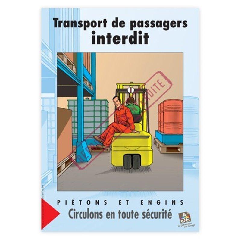 Transport de passagers interdit