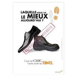 Chaussures chics et chocs