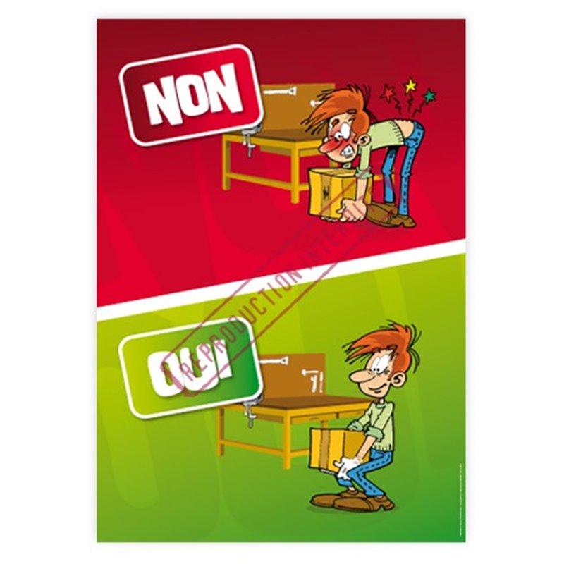 Oui / Non manutention