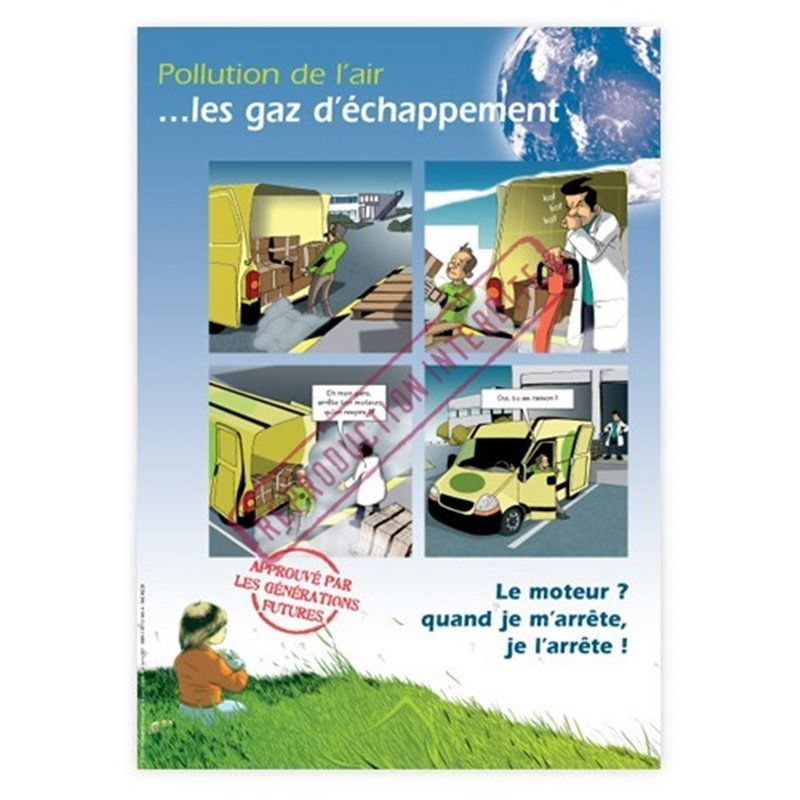 Pollution de l'air...les gaz d'échappement